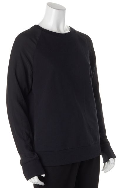 EQUIPMENT Black Crewneck Sweater
