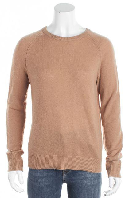 EQUIPMENT Camel Crewneck Long Sleeve Sweater