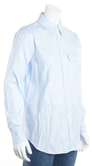 EQUIPMENT Blue Button Down Shirt Blouse