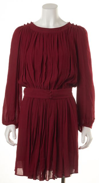 ÉTOILE ISABEL MARANT Red Blouson Dress