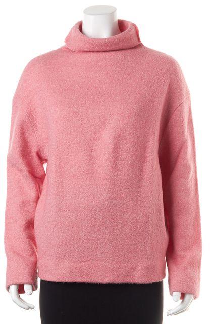ÉTOILE ISABEL MARANT Pink Wool Over Sized Turtleneck Sweater