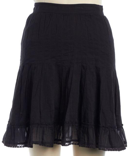 ÉTOILE ISABEL MARANT Black Pleated Skirt