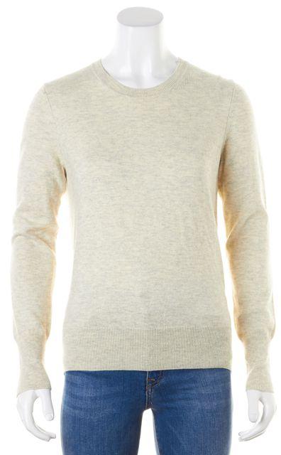 ÉTOILE ISABEL MARANT Ivory Gray Heathered Crewneck Sweater