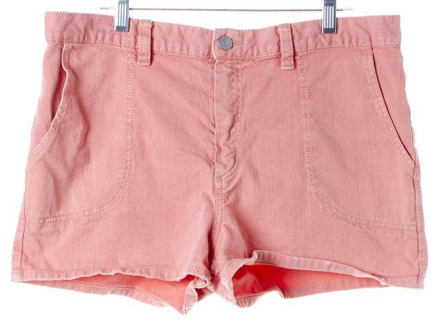 ÉTOILE ISABEL MARANT Pink Cotton Denim Shorts