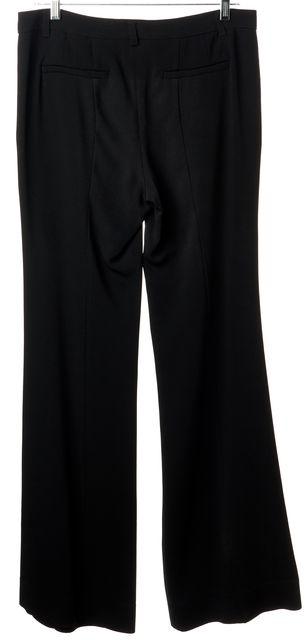 ETRO Black Casual Slim Fit Boot Cut Flare Leg Classic Career Dress Pants
