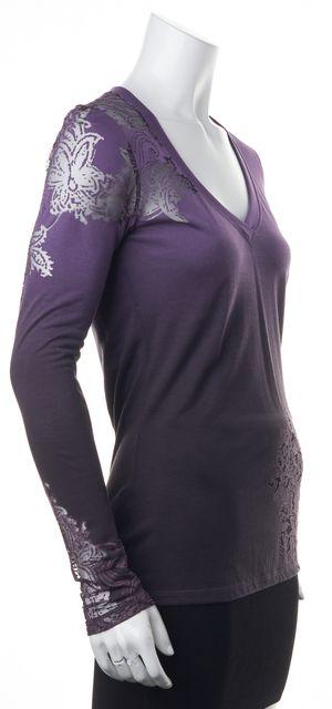 ETRO Purple Floral T-Shirt