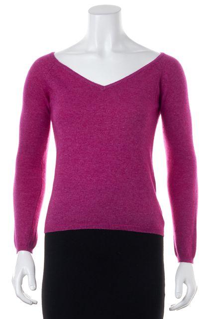 ETRO Career Pink V-Neck Knit Sweater