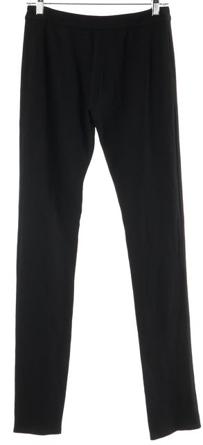 FENDI Black Casual Slim Fit Skinny Leg Stretch Career Dress Knit Pants