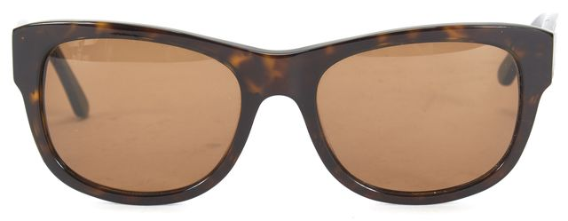 FENDI Brown Tortoise Acetate Brown Lens Square Sunglasses