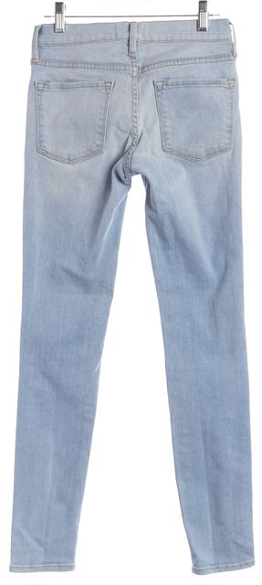 FRAME Blue Le Skinny de Jeannie Skinny Jeans