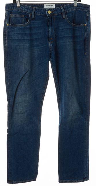 FRAME Starfield Blue Stretch Cotton Le Grand Garcon Boyfriend Jeans