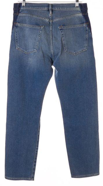 FRAME Elton Blue Le Original Straight Leg Jeans