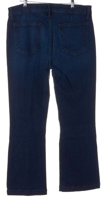 FRAME Hayworth Blue Le Crop Mini Boot Cut Jeans