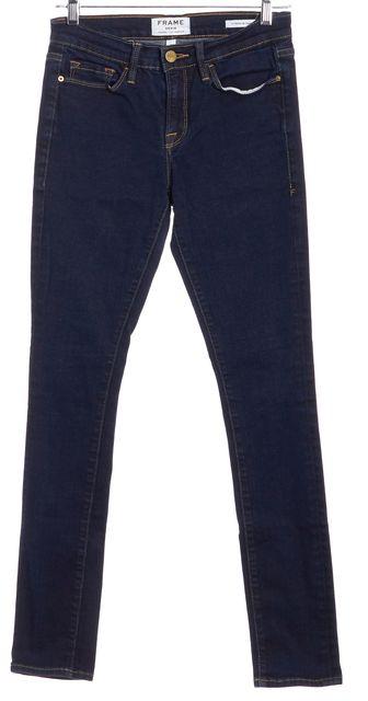 FRAME Blue Skinny Denim Jeans