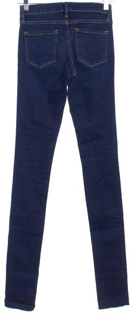 FRAME Blue Skinny Jeans