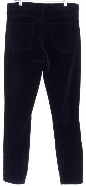 FRAME Blue Velvet Pants