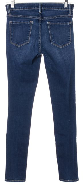 FRAME Blue Le Skinny de Jeanne Skinny Jeans