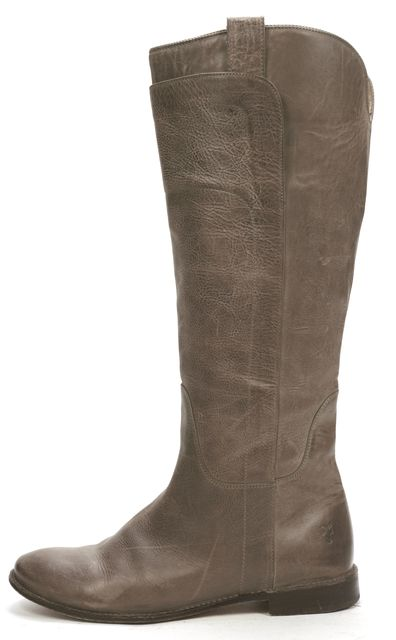 FRYE Light Brown Leather Knee-high Boot Tall Boots