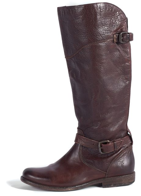 FRYE Brown Leather Riding, Equestrian Tall Boots