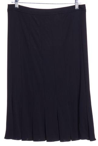 GIORGIO ARMANI Black Pleated Skirt