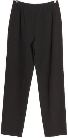 GIORGIO ARMANI Gray Pinstripe Trousers Pants Fits Like a 4