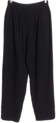 GIORGIO ARMANI Black Trousers Pants Fits Like a 4