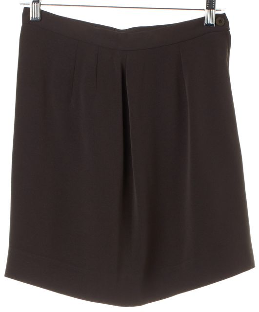 GIORGIO ARMANI Brown Straight Skirt