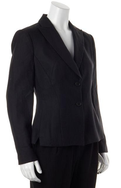 GIORGIO ARMANI Career Black Wool Blazer