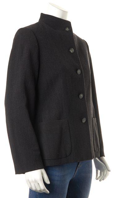 GIORGIO ARMANI Black Wool Jacket