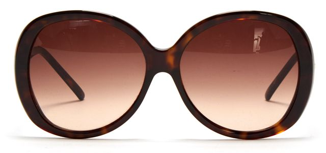 GIVENCHY Brown Tortoise Gradient Lens Oversized Sunglasses