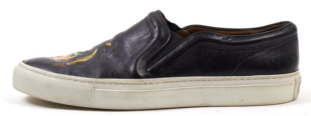GIVENCHY Rottweiler Leather Slip-On Sneakers