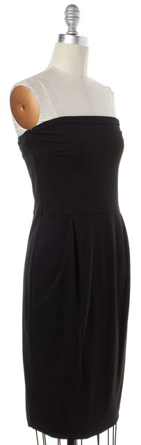 GUCCI Black Strapless Dress