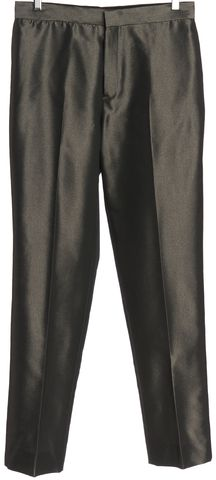 GUCCI Gray Metallic Trouser