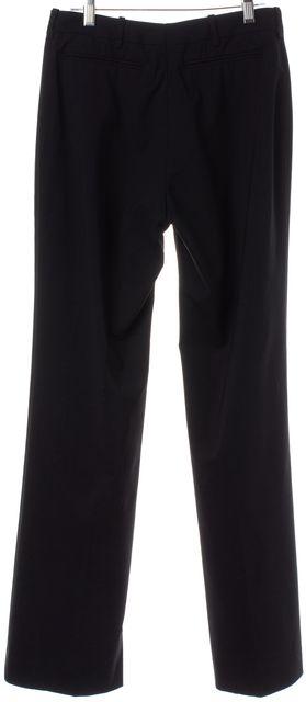 GUCCI Black Wide Leg Pleated Dress Pants