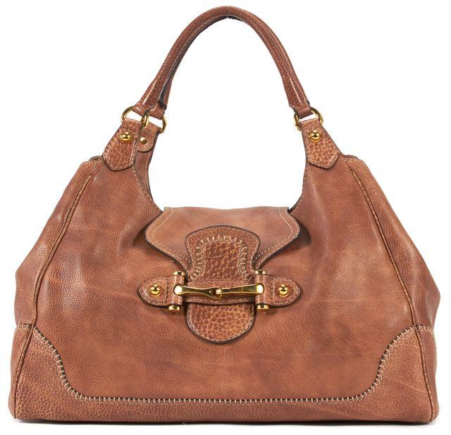 GUCCI Brown Leather Pelham Shoulder Bag