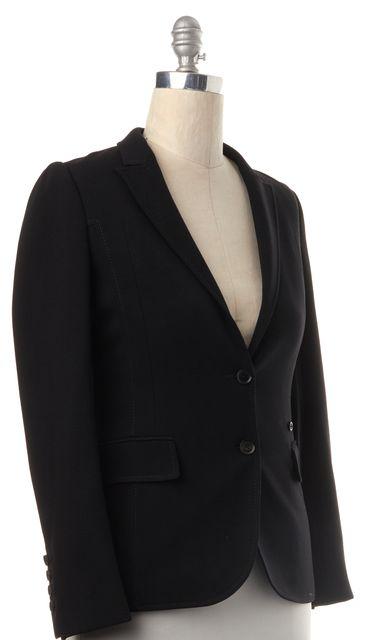GUCCI Black Wool Blazer Jacket