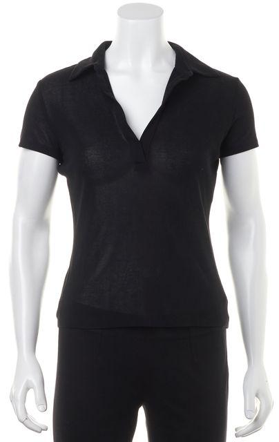 GUCCI Black Polo Shirt Top