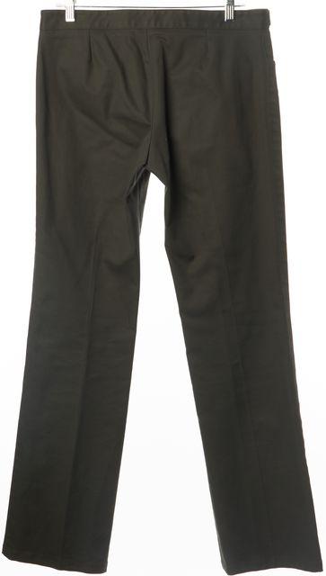 GUCCI Hunter Green Straight Leg Chinos Pants US 8 IT 44