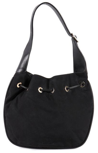 GUCCI Black Hobo Shoulder Bag