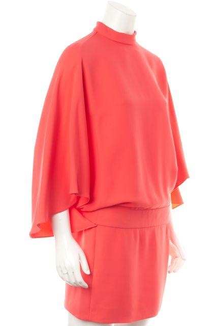 GUCCI Pink Silk Blouson Dress