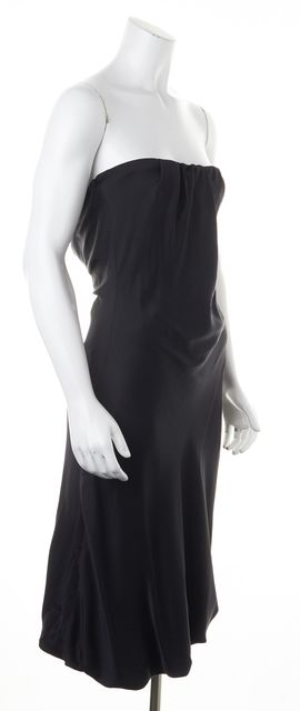 GUCCI Silk Black Corset Dress
