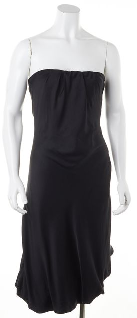 GUCCI Silk Black Corset Dress