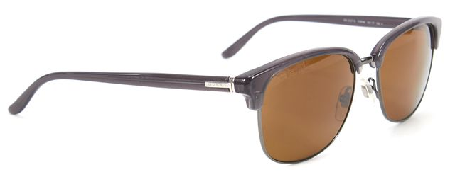 GUCCI Gray Acetate Brown Lens Sunglasses