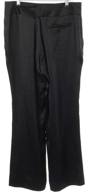 GUCCI Black Career Silk Dress Pants
