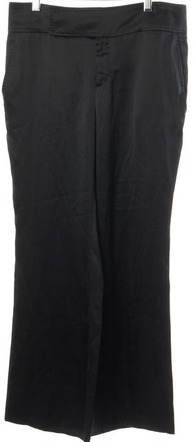 GUCCI Black Career Silk Dress Pants