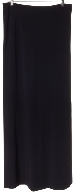 GUCCI Black Wool Maxi Skirt