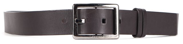 GUCCI Brown Soft Leather Belt