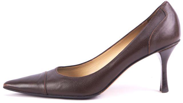 GUCCI Brown Pointed Toe Stilettos Heels