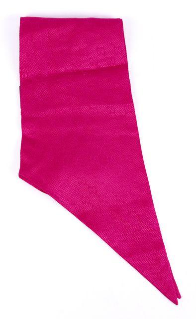 GUCCI Hot Fucsia Pink Silk GG Guccissima Long Skinny Scarf