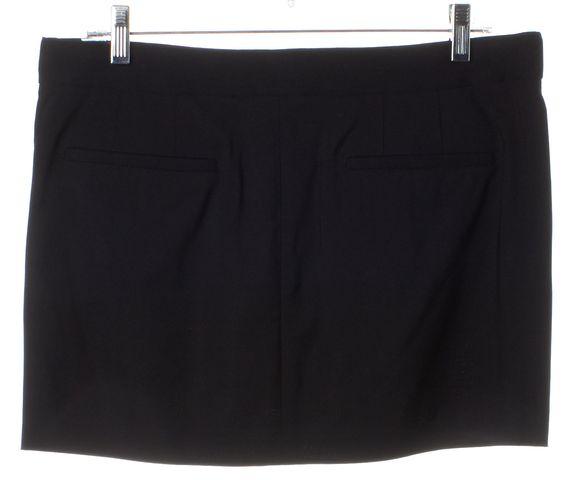HELMUT LANG Black A-Line Skirt Size 8
